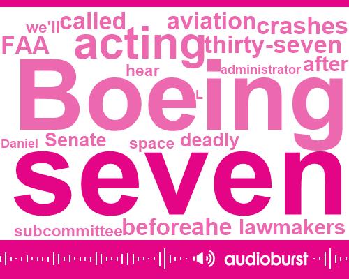 FAA,Boeing,Chairman Of The National Transportation Safety Board,Elaine Chao,Theo Pia,Senate,Administrator,Indonesia,Daniel L,Secretary