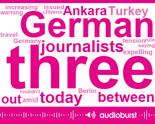 Ankara Germany,Ankara,Mark Lowen,Turkish Government,Turkey,Berlin,Zanu,Ten Day