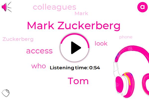 Mark Zuckerberg,TOM