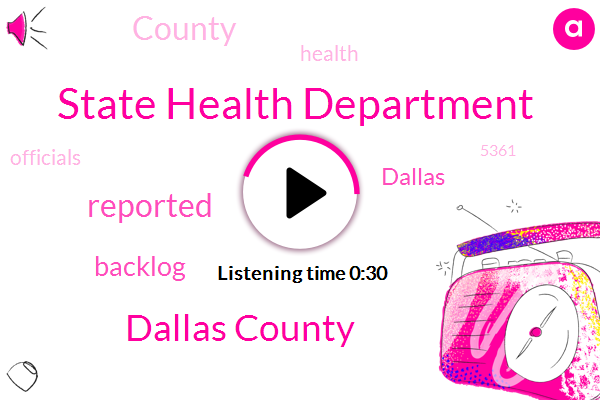 Dallas County,State Health Department