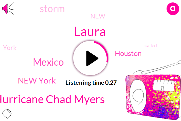 Hurricane Chad Myers,Laura,Mexico,New York,Houston