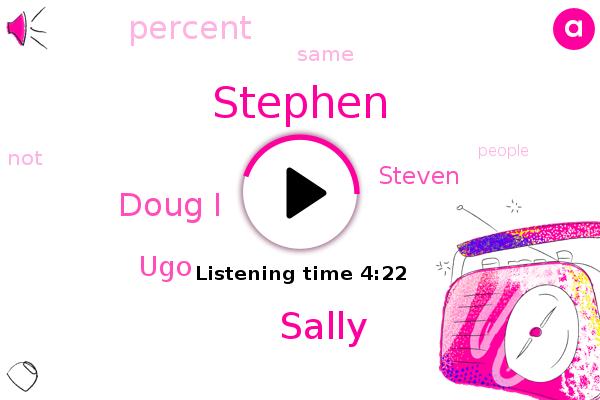 Sally,Stephen,Doug I,UGO,Steven