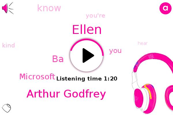 Ellen,Arthur Godfrey,BA,Microsoft