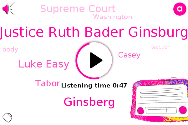 Listen: Ruth Bader Ginsburg lies in repose at US Supreme Court