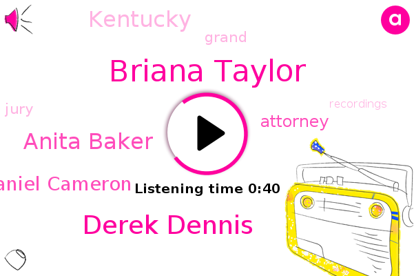 Briana Taylor,Attorney,Derek Dennis,Anita Baker,Daniel Cameron,Kentucky