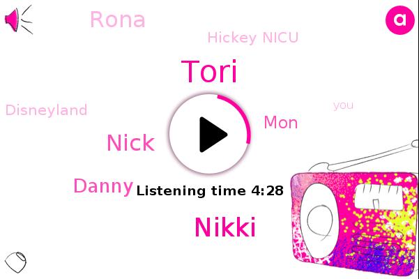 Nikki,Nick,Danny,Tori,MON,Disneyland,Rona,Hickey Nicu