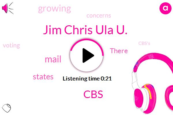 Jim Chris Ula U.,CBS