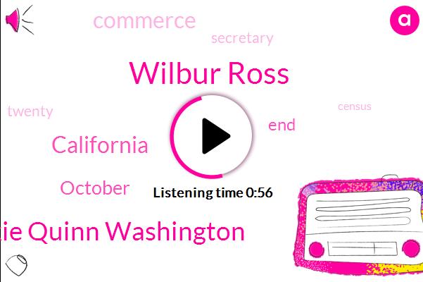 Wilbur Ross,Jackie Quinn Washington,California