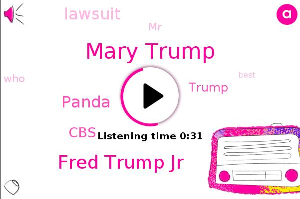 Mary Trump,Fred Trump Jr,Panda,CBS