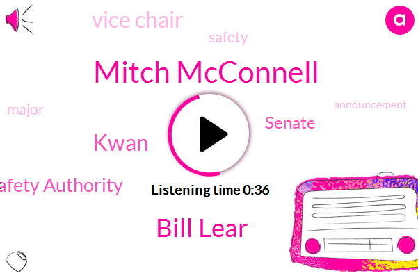 Horse Racing Integrity And Safety Authority,Senate,Mitch Mcconnell,Bill Lear,Vice Chair,Kwan