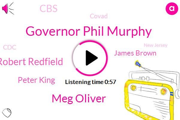 Governor Phil Murphy,CBS,Meg Oliver,New Jersey,Flu Vaccine,Robert Redfield,Covad,Peter King,CDC,James Brown,Football,Director