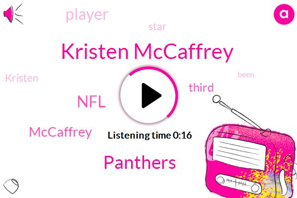 Panthers,Kristen Mccaffrey,NFL
