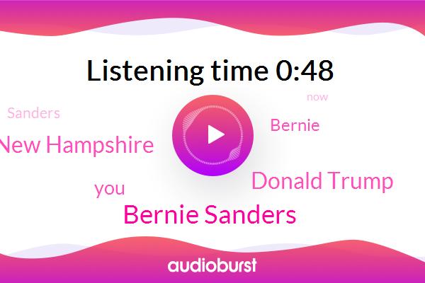 New Hampshire,Bernie Sanders,Donald Trump