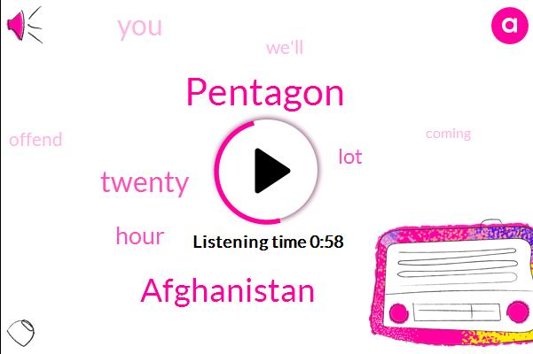 Afghanistan,Pentagon,Three Weeks,Eighteen Year,Twenty Years,Two Decades