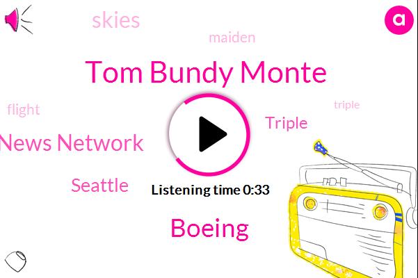 Boeing,Tom Bundy Monte,Northwest News Network,Seattle