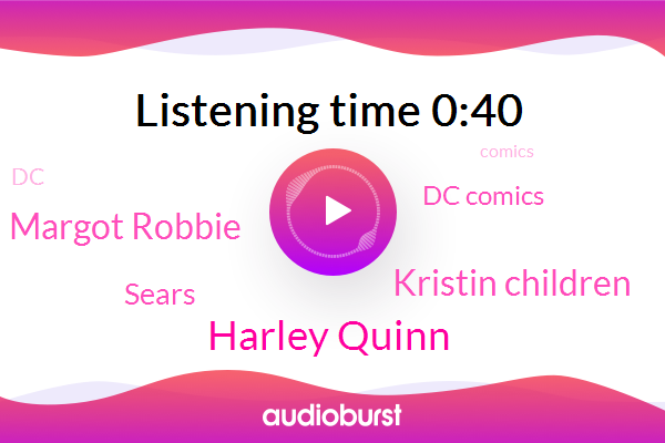 Harley Quinn,Sears,Kristin Children,Dc Comics,Margot Robbie