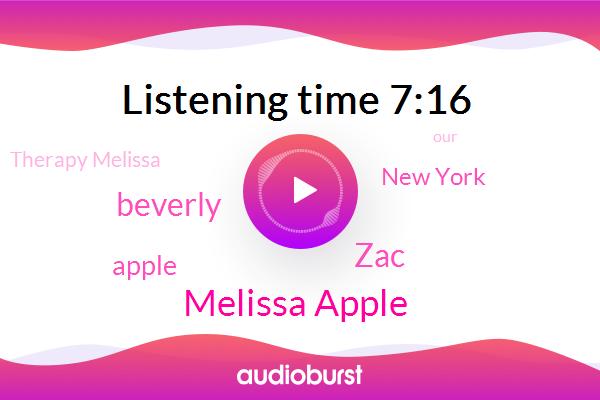 Melissa Apple,Therapy Melissa,New York,Apple,ZAC,Beverly