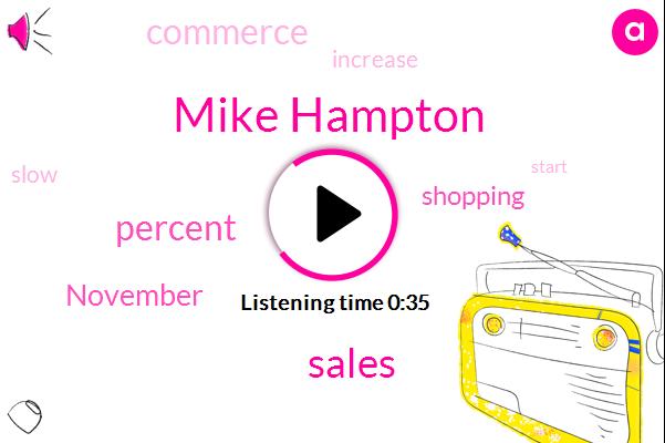 Listen: Holiday Retail Sales Had a Lackluster November Start