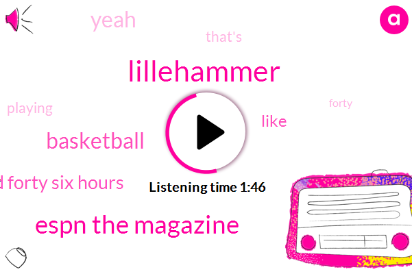 Lillehammer,Espn The Magazine,Basketball,One Hundred Forty Six Hours