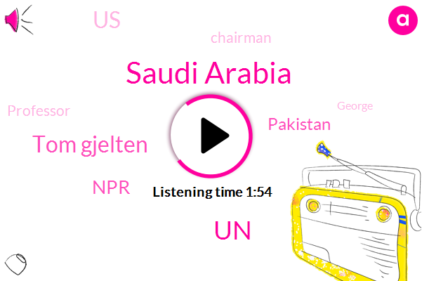 Saudi Arabia,UN,Tom Gjelten,NPR,Pakistan,United States,Chairman,Professor,George,Seventy Years