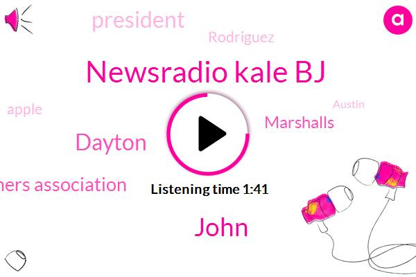 Newsradio Kale Bj,John,Dayton,Texas State Teachers Association,Marshalls,President Trump,Rodriguez,Apple,Austin,El Paso,Clay Robinson,Patrick Osborne,Jack,Texas,ABC,Sixty Hours,Two Years