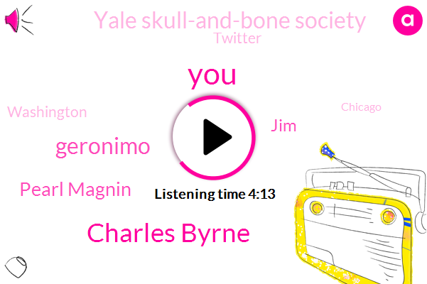 Charles Byrne,Geronimo,Pearl Magnin,JIM,Yale Skull-And-Bone Society,Twitter,Washington,Chicago,Matt,Fleischer,PAT,Brian,Two Hundred Dollars