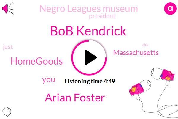 Bob Kendrick,Arian Foster,Homegoods,Massachusetts,Negro Leagues Museum,President Trump