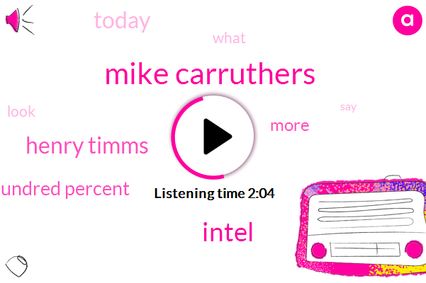 Mike Carruthers,Intel,Henry Timms,Hundred Percent