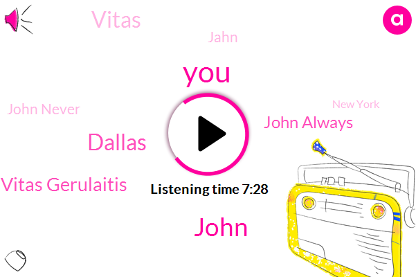 John,Dallas,Vitas Gerulaitis,Tennis,John Always,Vitas,Jahn,John Never,New York,Mavericks,Bork,W. C. T.