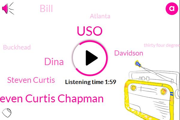 USO,Steven Curtis Chapman,Dina,Steven Curtis,Davidson,Bill,Atlanta,Buckhead,Thirty Four Degrees