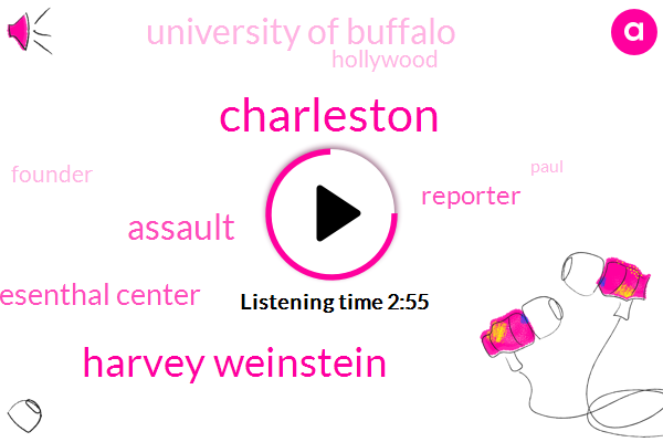 Charleston,Harvey Weinstein,Assault,Simon Wiesenthal Center,Reporter,University Of Buffalo,Hollywood,Founder,Paul