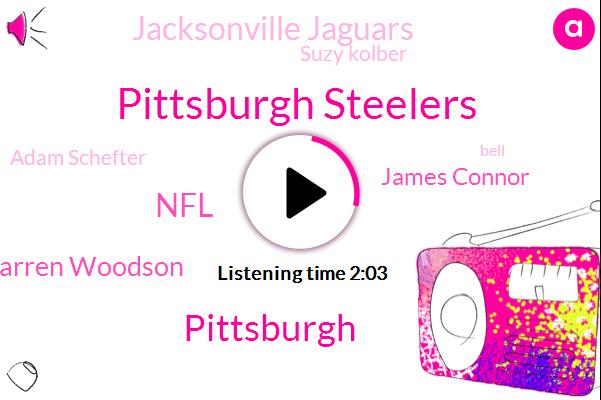 Pittsburgh Steelers,Pittsburgh,Darren Woodson,NFL,James Connor,Jacksonville Jaguars,Suzy Kolber,Adam Schefter,Bell,Bill,Espn,Rooney,Analyst,Two Seconds,Three Days