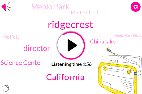 Ridgecrest,California,Director,Earthquake Science Center,China Lake,Menlo Park,Moffett Field,Menlo Park Hickman,East Bay,CBS,Margie Shafer,Moffett,Hayward,Santa Rosa,Thirty Years,Forty Five Kilometers,Thirty Three Percent,Seventy Two Percent,Twenty Years,Three Years