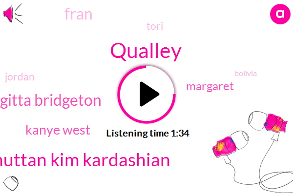 Qualley,Bhuttan Kim Kardashian,Brigitta Bridgeton,Kanye West,Margaret,Fran,Tori,Jordan,Bolivia,Paul Big