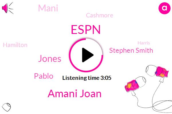 Espn,Amani Joan,Jones,Pablo,Stephen Smith,Mani,FOX,DAN,Cashmore,Hamilton,Harris,Official,Lebron,Football,Eighty Nine Percent
