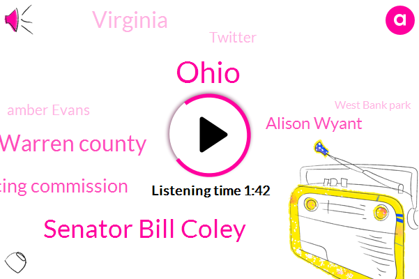 Ohio,Senator Bill Coley,Warren County,ABC,Ohio Racing Commission,Alison Wyant,Virginia,Twitter,Amber Evans,West Bank Park,FOX,Wtvn,Miami Valley,Heather