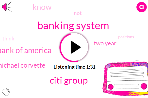 Banking System,Citi Group,Bank Of America,Michael Corvette,Two Year