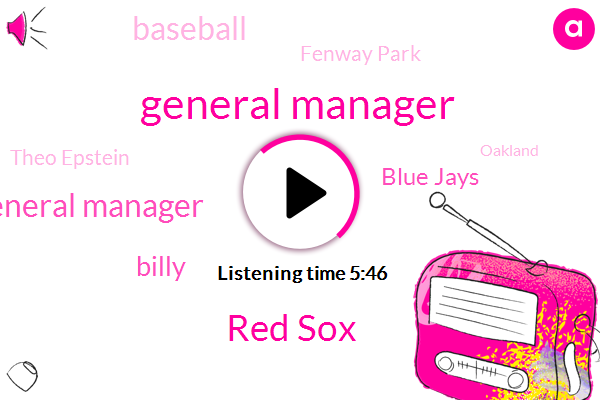 General Manager,Red Sox,Assistant General Manager,Billy,Blue Jays,Baseball,Fenway Park,Theo Epstein,Oakland,Yelm,Ricciardi,Pitt,Brad,Worcester,San Diego,Xactly,Fenway