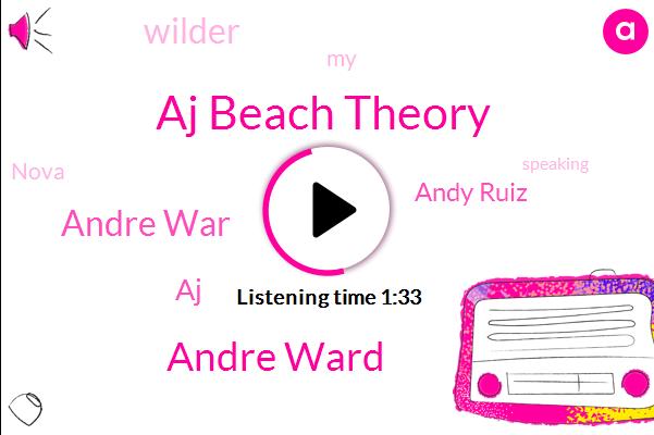Aj Beach Theory,Andre Ward,Andre War,AJ,Andy Ruiz,Wilder
