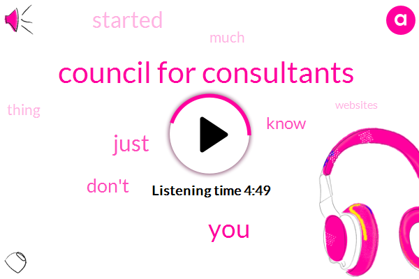 Council For Consultants
