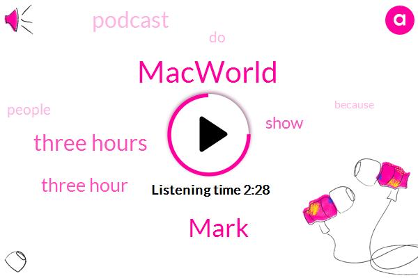 Macworld,Mark,Three Hours,Three Hour