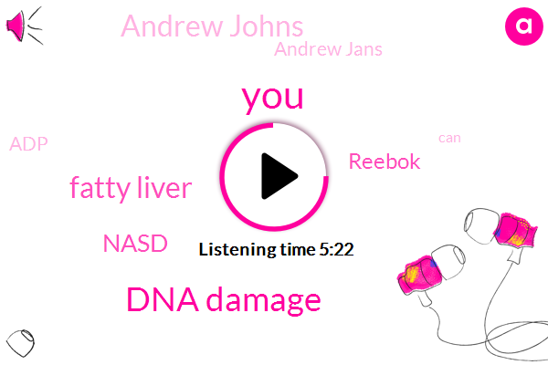 Dna Damage,Fatty Liver,Nasd,Reebok,Andrew Johns,Andrew Jans,ADP