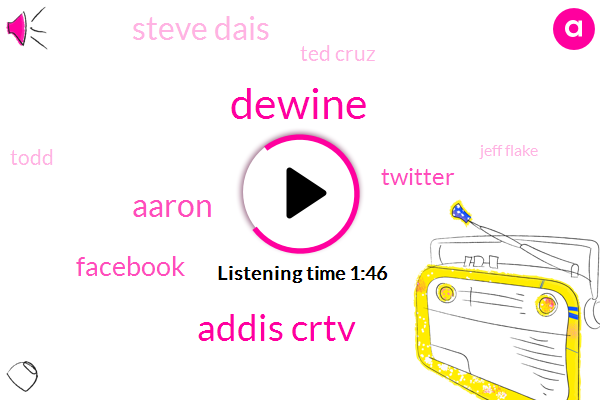 Dewine,Addis Crtv,Aaron,Facebook,Twitter,Steve Dais,Ted Cruz,Todd,Jeff Flake,Bruce,Iheart Itu,Steve