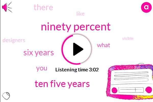 Ninety Percent,Ten Five Years,Six Years