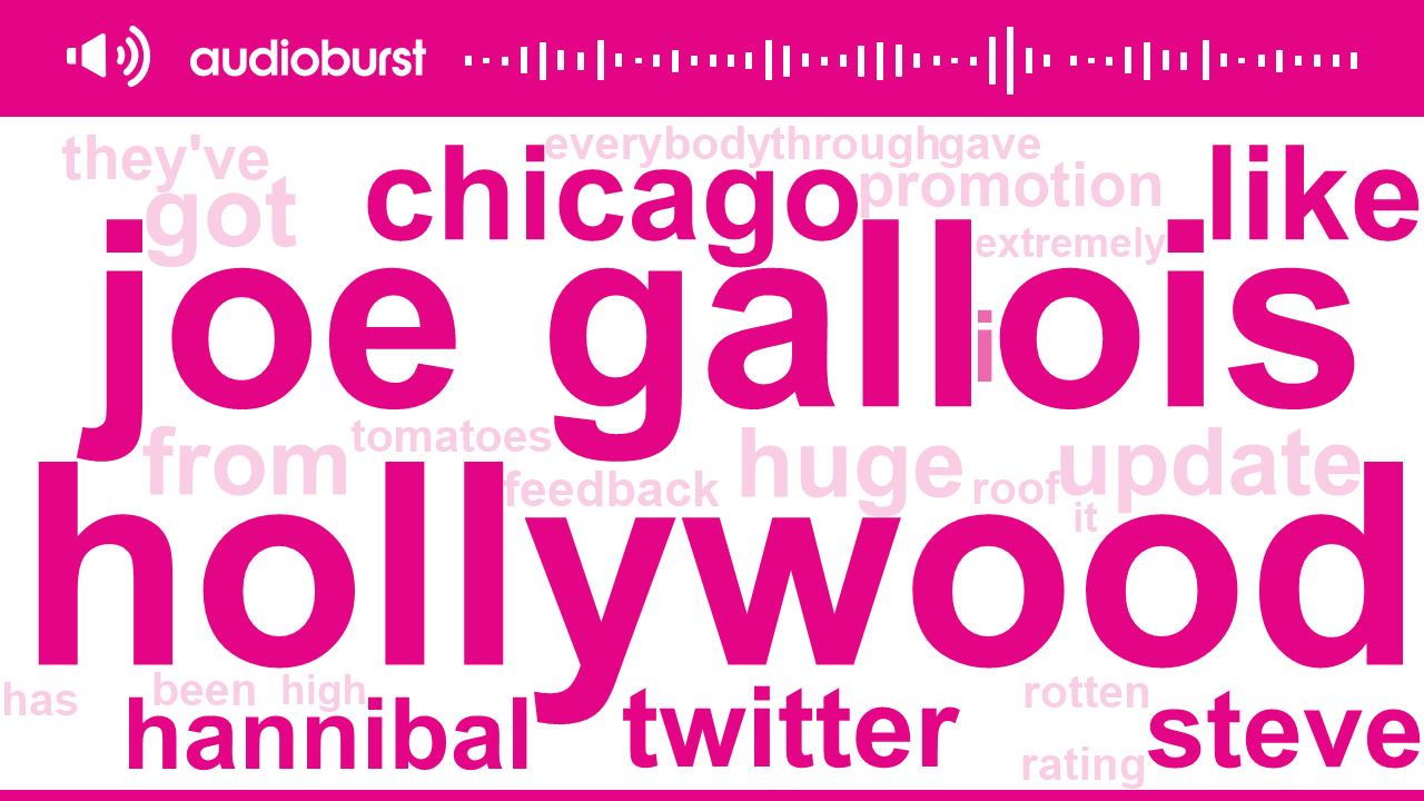 Listen to Hollywood, Joe Gallois, Chicago discussed on Bill