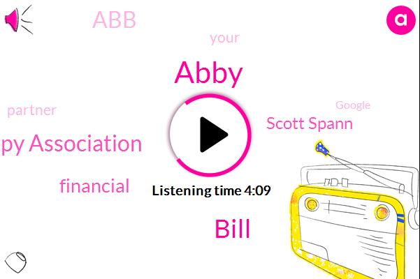 Abby,Financial Therapy Association,Bill,Scott Spann,ABB,Partner,Google,Moneymatters,Ninety Five Dollars,Two Week