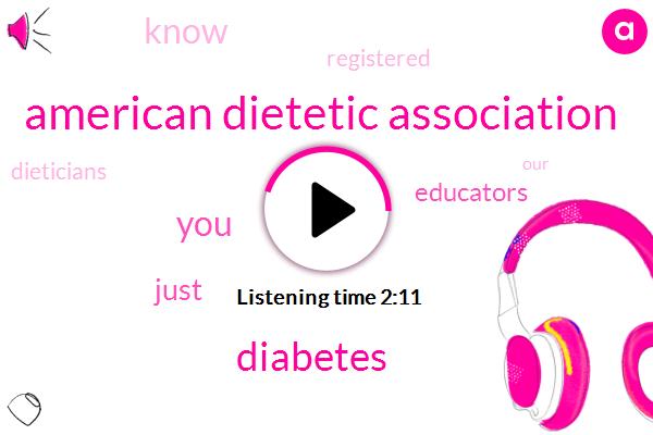 American Dietetic Association,Diabetes