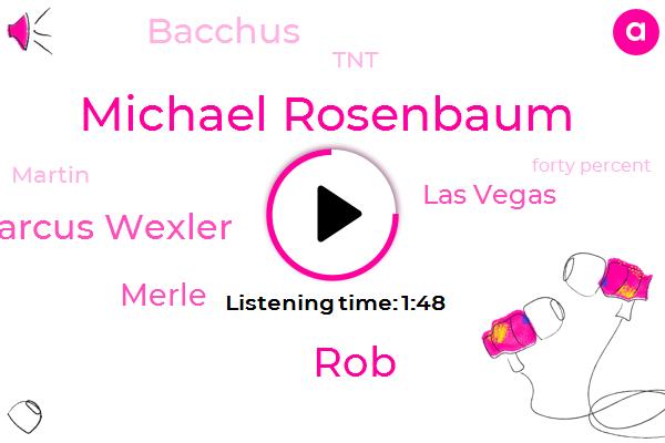 Michael Rosenbaum,ROB,Marcus Wexler,Merle,Las Vegas,Bacchus,TNT,Martin,Forty Percent