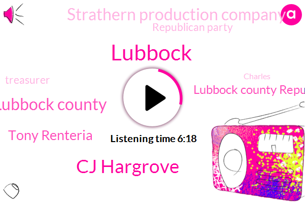 Cj Hargrove,Lubbock County,Lubbock,Tony Renteria,Lubbock County Republican Party,Strathern Production Company,Republican Party,Treasurer,Charles,Roswell New Mexico,Carl,Austin,Corliss,Texas,Official,State Representative,Karl