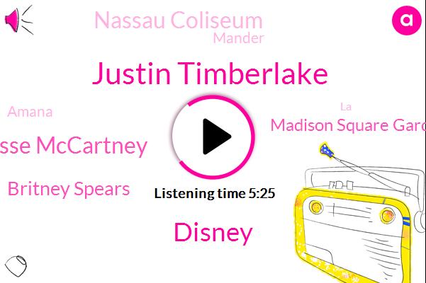 Justin Timberlake,Disney,Jesse Mccartney,Britney Spears,Madison Square Garden,Nassau Coliseum,Mander,Amana,LA,Europe,High School,Mike,Jay Landers,Los Angeles,La Shooting,Sony,Australia,Hilary Duff.,Italy Japan,Hollywood
